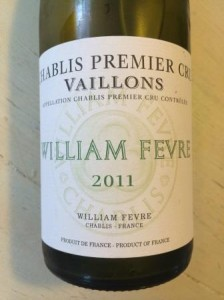 William Fevre Chablis Premier cru Vaillons