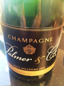 Palmer o Co Brut Millesime 2008