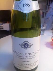Chassagne-Montrachet Premier Cru Les Ruchottes 1995