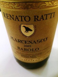 Barolo Renato Ratti Marcenasco 2005